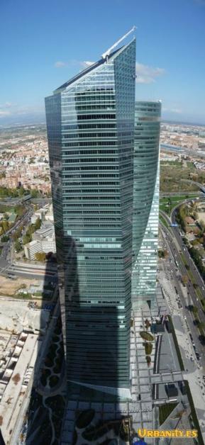 Affirma amplía en la Torre de Cristal en Madrid