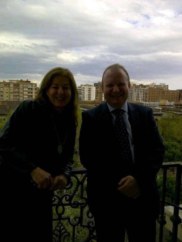 Olga Pueyo y Eduardo Salsamendi