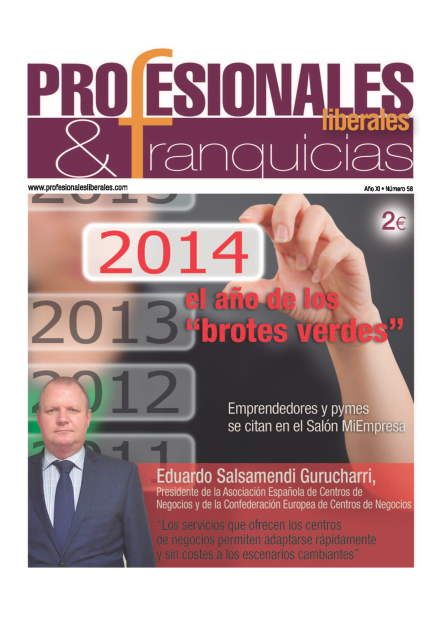 Portada Profesionales Liberales & Franquicias febrero 2014.ok