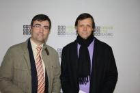 Roberto Zúñiga (Delegado Zona Centro ACN) y Fernando Zúñiga