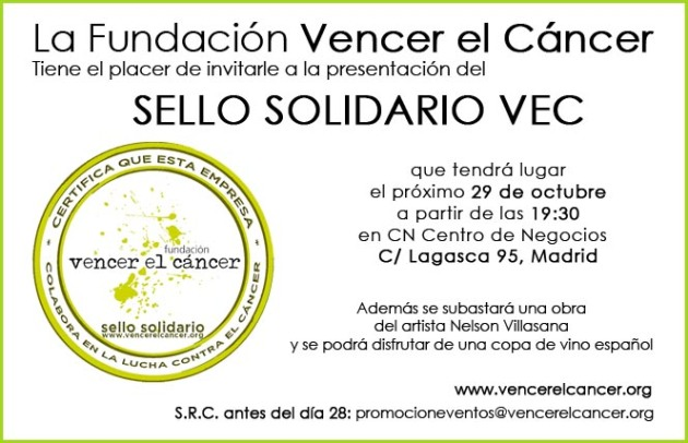 Invitación Sello Solidario