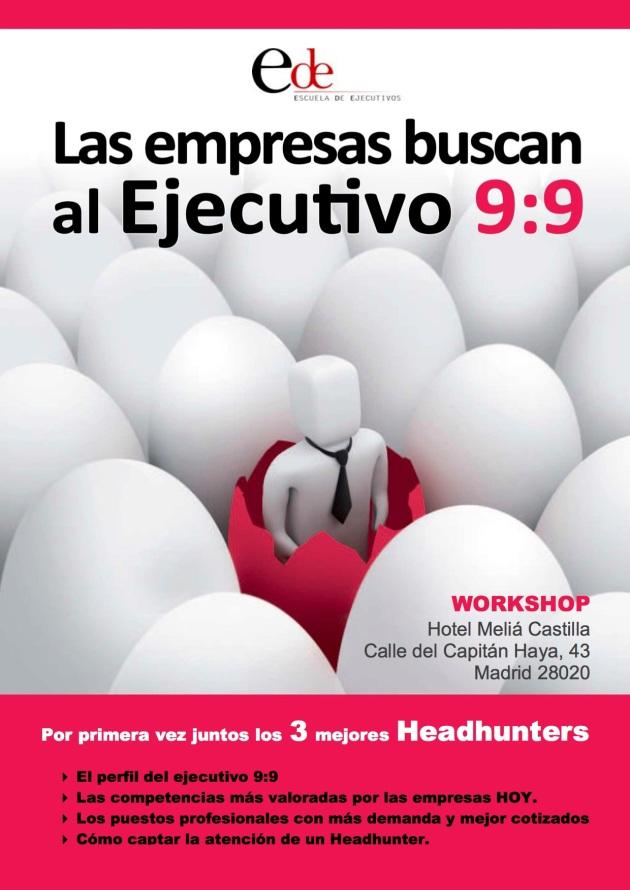 Workshop El ejecutivo 9 9 Madrid
