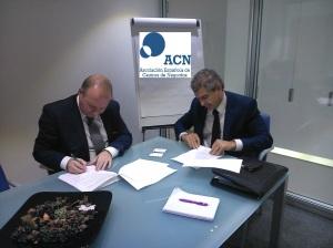Firma Acuerdo Seguridad Corporativa