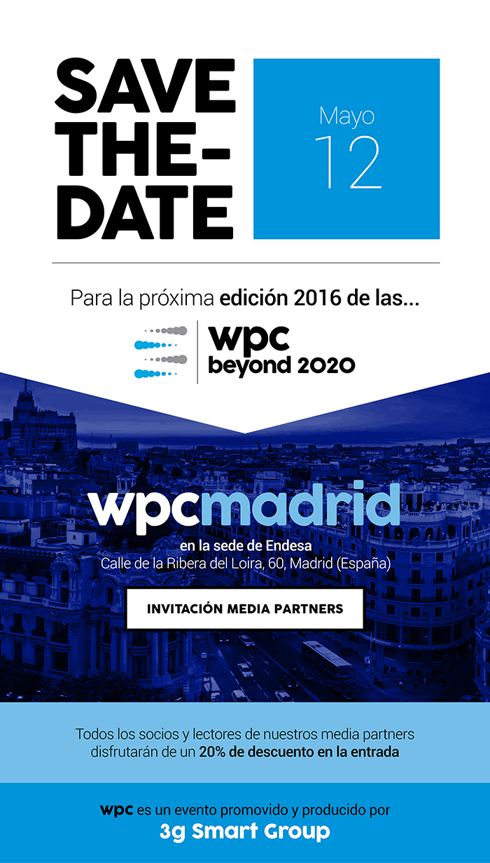 SAVE THE DATE Madrid